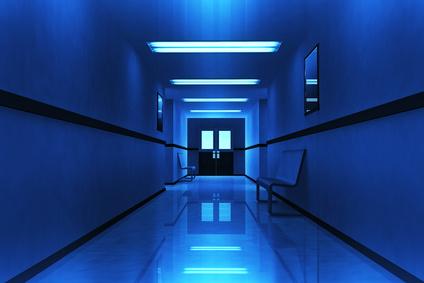Scary Horror Hospital Corridor