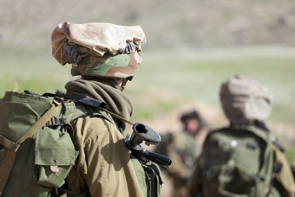 Israeli soldier training